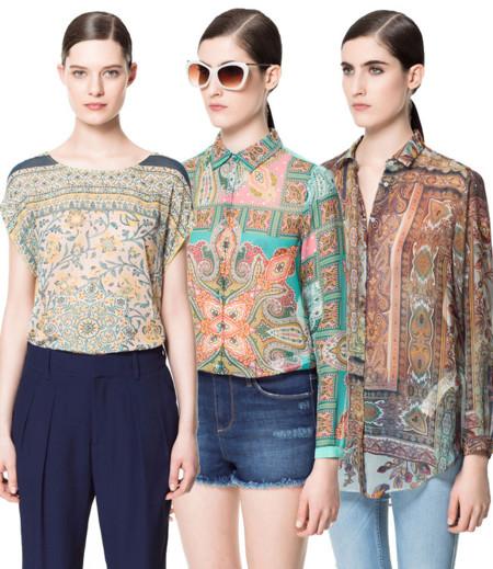 Zara blusa