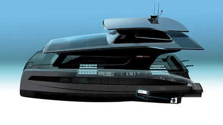 ¡Leven anclas! Este yate eléctrico y solar de Volkswagen, con arquitectura MEB y diseño CUPRA, estará listo en 2022