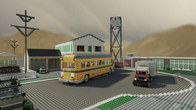 Nuketown, Terminal... Así lucen los mapas más míticos de Call of Duty hechos completamente con piezas de LEGO
