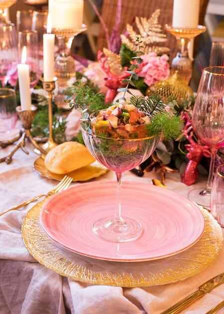 Comida en rosa