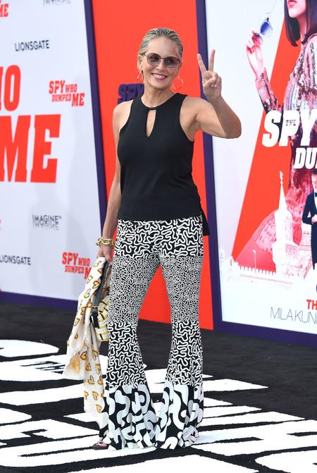 Sharon Stone alfombra roja