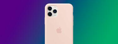 La funda de silicona oficial de Apple para el iPhone 11 Pro está rebajadísima en Amazon a menos de 14 euros