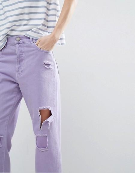 jeans malva lila lowcost