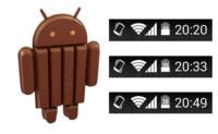 Android 4.4 permite mostrar el porcentaje de batería en la barra de estado sin root