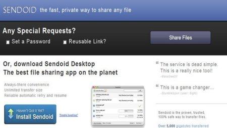 Sendoid, el P2P directo para compartir archivos de gran tamaño