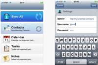 Funambol, la competencia gratuita de MobileMe en el iPhone