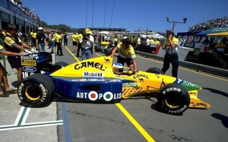 El Benetton B191 de Michael Schumacher será subastado el 10 de agosto