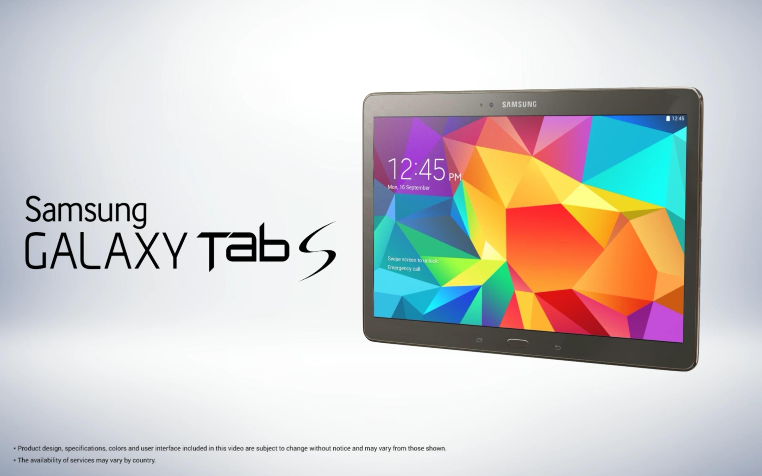 Foto de Samsung Galaxy Tab S (10/14)