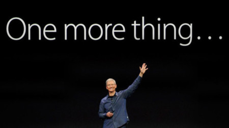 One more thing: taza y media de keynote para todos