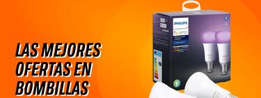 Dale un toque de color a tu casa con Philips Hue: bombillas, kits, tiras LED y más en oferta por el Black Friday 2020