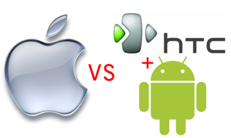 Apple contra HTC... y Android
