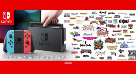 Estos son los indies que acompañarán a Switch durante su primer año