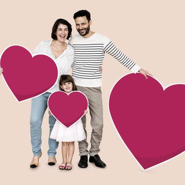 Nueve bonitas ideas para celebrar San Valentín con tus hijos