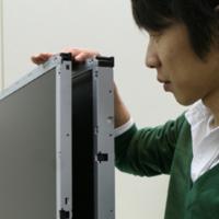 Pantalla HDTV de 120 Hz delgada de LG