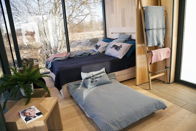 Small Modern Prefab Cabin Bedroom 220617 116 04