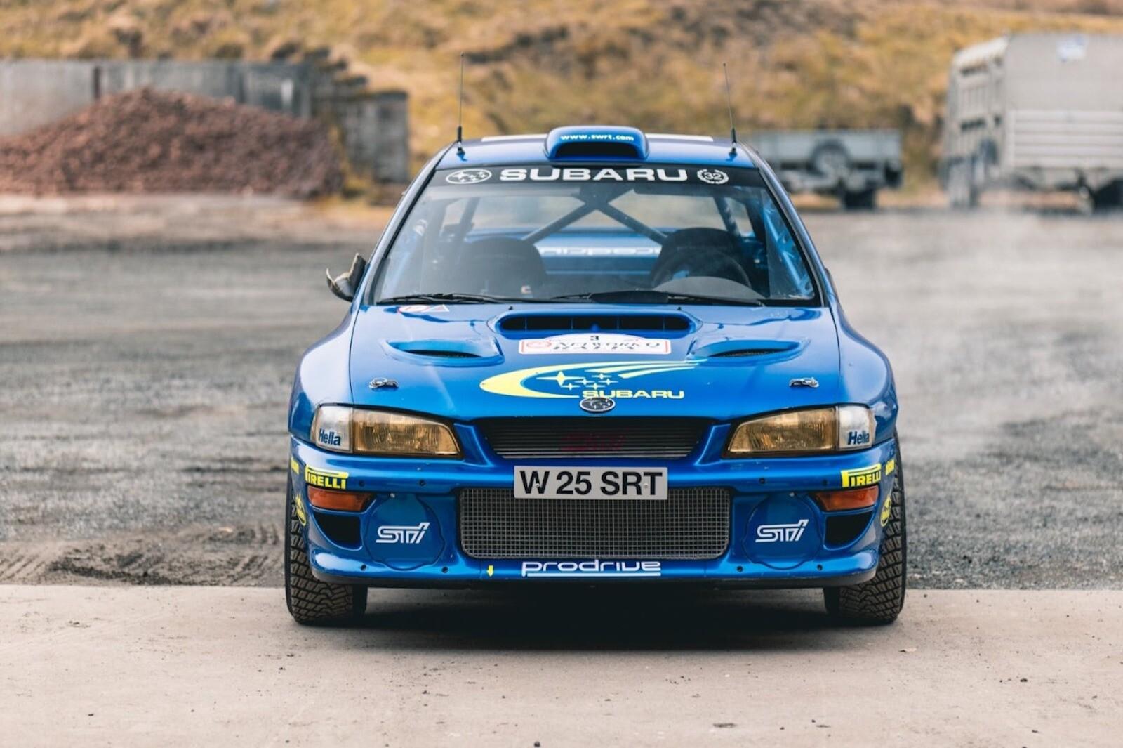 Foto de El Subaru Impreza WRC más caro en la historia (15/17)