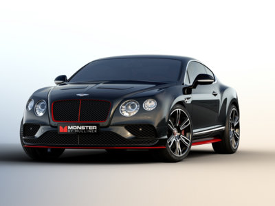 Bentley Monster by Mulliner: una discoteca móvil desde el CES