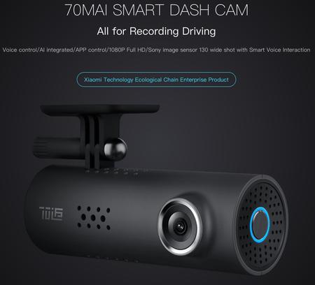 Oferta Flash: cámara Xiaomi 70 Mai Smart Dash Cam por sólo 28,95 euros y envío gratis