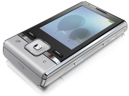Sony Ericsson T715, compacto y convencional