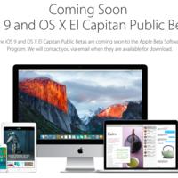 Llegó el día, iOS 9 y OS X El Capitan ya tienen sus primeras betas públicas