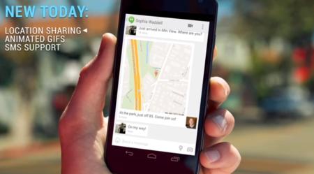 Compartir localizaciones hangouts