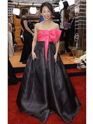 El look de Sandra Oh en los Screen Actors Guild Awards