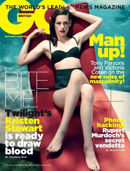 Kristen Stewart ahora se pasa a la moda pin-up (al menos para GQ)