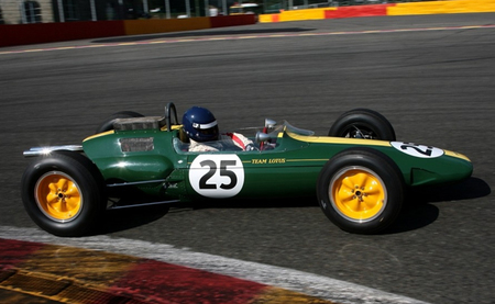 Lotus 25 - Spa Francorchamps