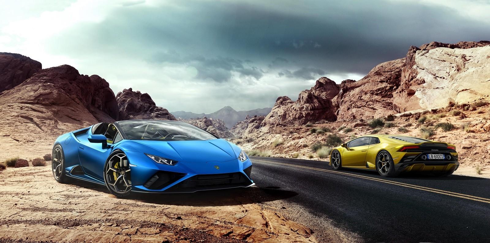 Foto de Lamborghini Huracan EVO Spyder RWD (9/14)