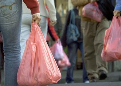 No a las bolsas de plástico
