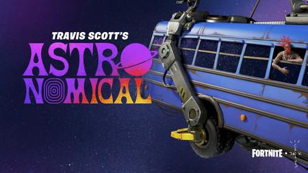 Fortnite pone fecha y hora a Travis Scott Astronomical, un nuevo evento con regalos, skins y desafíos