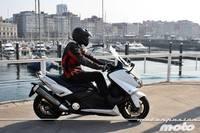 Yamaha T-MAX 530, prueba (conducción en ciudad y carretera)