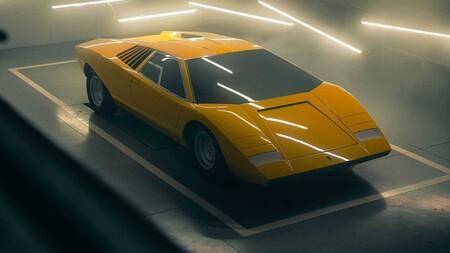 Lamborghini reconstruye el primer Countach LP500 a pedido de un cliente