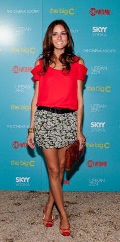 Olivia Palermo vestido estampado flores