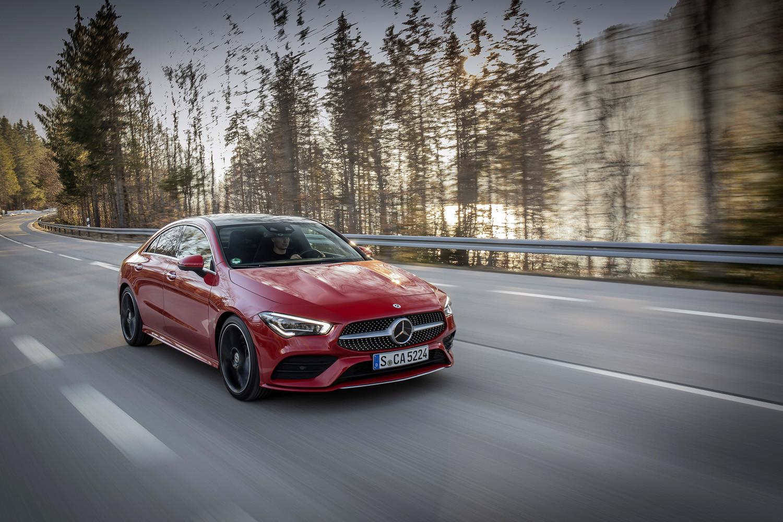 Foto de Mercedes-Benz CLA Coupé 2019, toma de contacto (9/248)