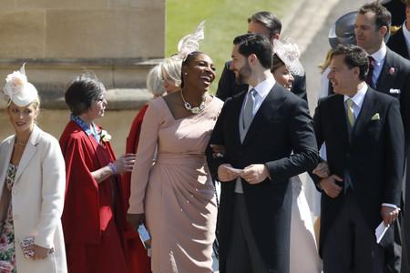 Boda del Príncipe Harry y Meghan Markle: Serena Williams opta por el diseño más ajustado del evento