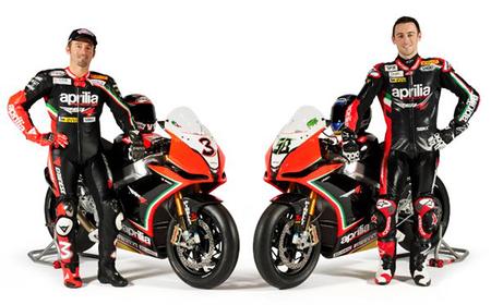 Presentado el Aprilia Racing Team 2012 con Max Biaggi a la cabeza