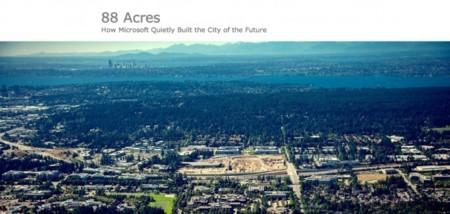 La ciudad del futuro de Microsoft, tecnología y salud y las cifras de iOS y Android