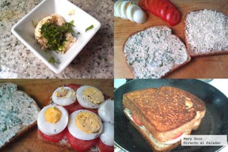 Sandwich Jitomate Pasos