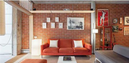 Sofa casa estudio