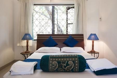 Airbnb Classic Blue Villa Campestre En Siolim India 3