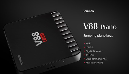 Por 34 euros puedes convertir tu viejo televisor en un Smart TV con esta TV Box V88 con 4GB de RAM
