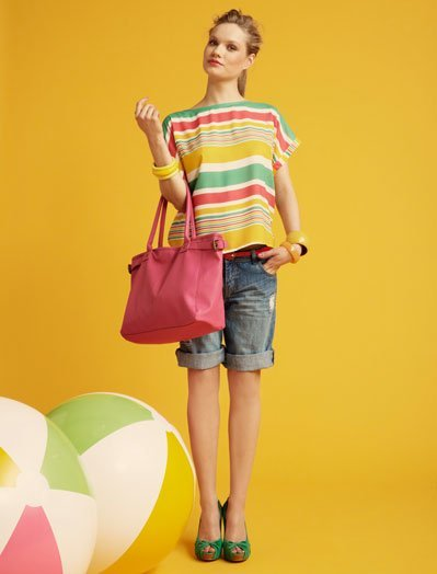 Rayas Blanco, lookbook Verano 2011