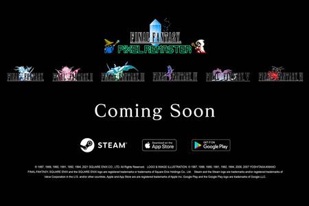 """Los seis primeros Final Fantasy tendrán un """"remake pixelado"""" para móviles"""