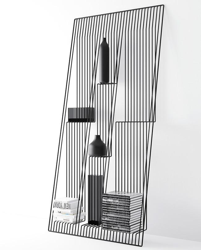 Moderno Estante Metal 6