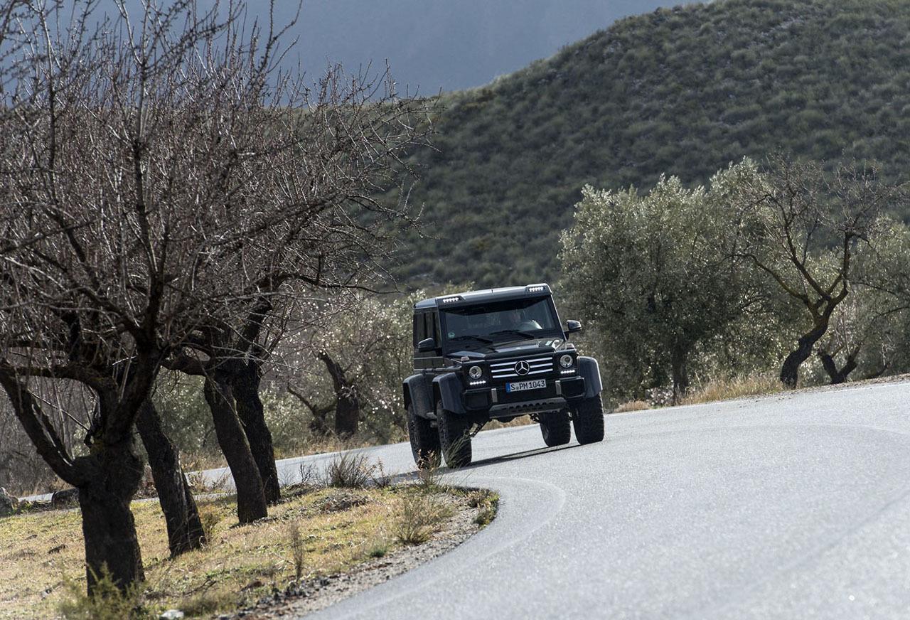 Foto de Mercedes-Benz G 500 4x4², toma de contacto (35/127)