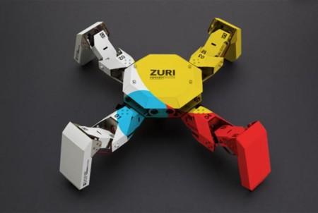 Zoobotics propone construir robots de cartón con Zuri