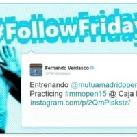 #FollowFriday de Poprosa: las celebrities se pasan por el Open de Tenis de Madrid