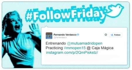 #FollowFriday de Poprosa: las celebrities se pasan por el Open de Tenis de Madrid