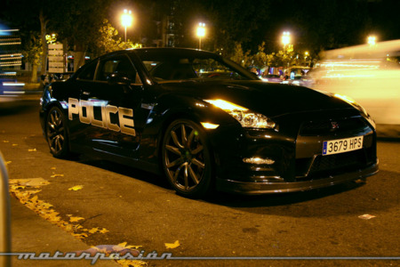 Nissan GT-R Police Edition
